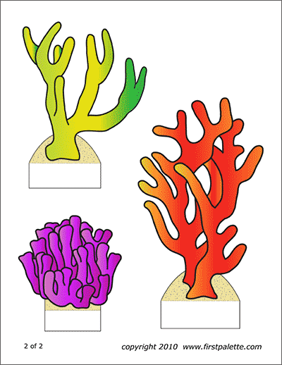 Sea Animals Free Printable Templates Amp Coloring Pages