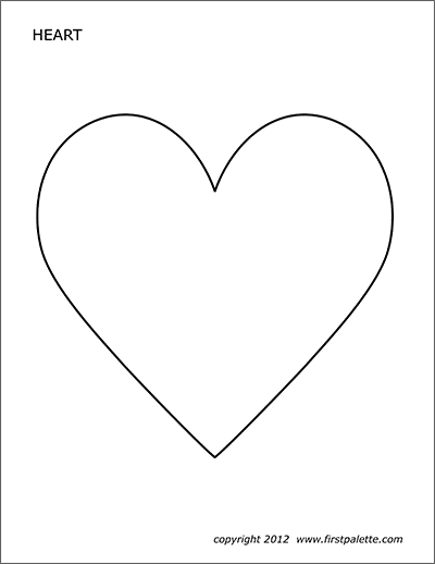 hearts free printable templates
