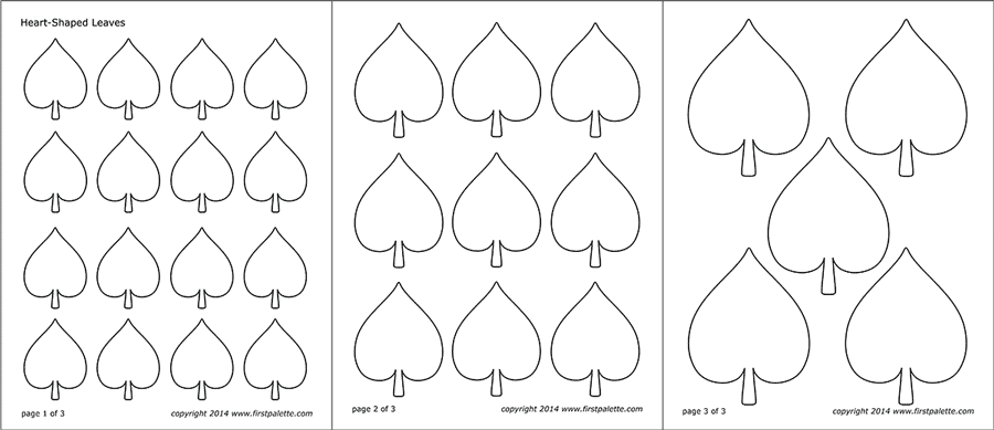 Leaf Templates Free Printable Templates Amp Coloring Pages