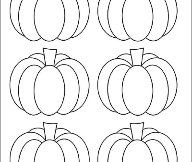 Pumpkins Free Printable Templates Coloring Pages