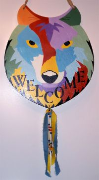 Home Decor by Coharie Nation artist, Painted Pony aka ...