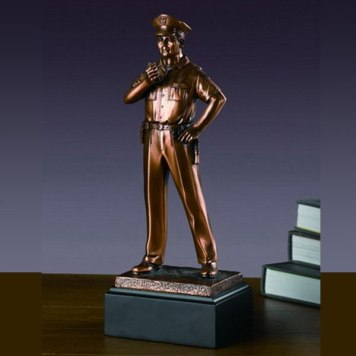 Tesoro Standing Policeman Sculpture