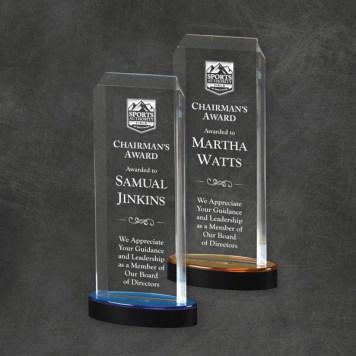 Sparta Tower Acrylic Awards