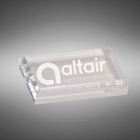 Claro Paperweight 2x4 clear
