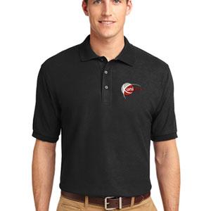 Basic Cotton/Poly Blend Polo Shirt