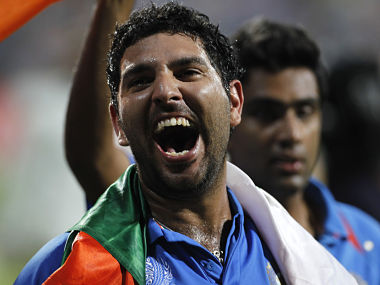 Happy days are here again for Yuvraj Singh. Reuters