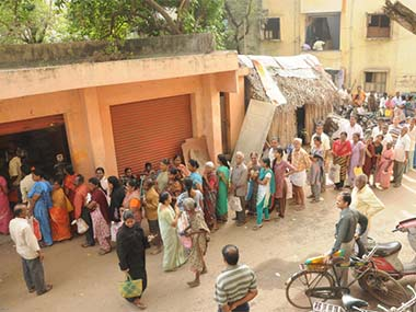 Will long lines for food be a result of the Food Security Bill? Representational image. Firstpost