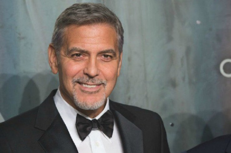 George Clooney. Image from Twitter/@TheWrap.