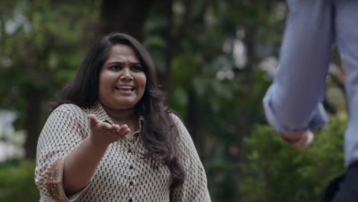 Sumukhi Suresh in the trailer of Pushpavalli. YouTube screengrab