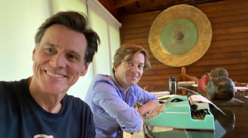 Jim Carrey, co-author Dana Vachon on their book Memories and Misconception, and writing a fictional Hollywood tale 1