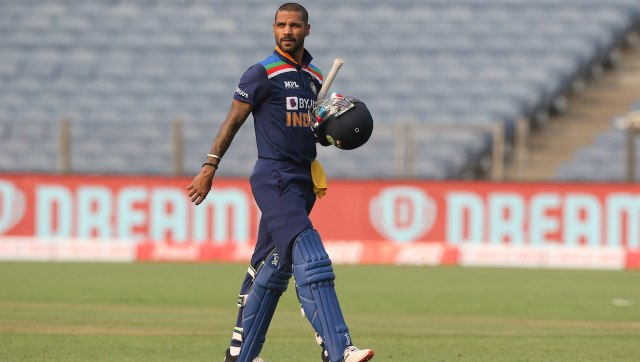 Shikhar Dhawan scored match-winning 98 in the first ODI on his return to the Indian side. Image: Sportzpics for BCCI