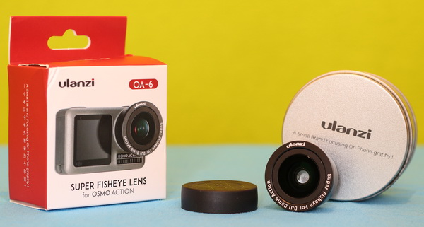 Osmo Action Accessories review: OA-6 Fisheye lens