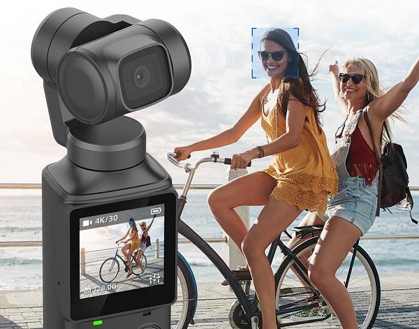 FIMI PALM 4K gimbal camera features