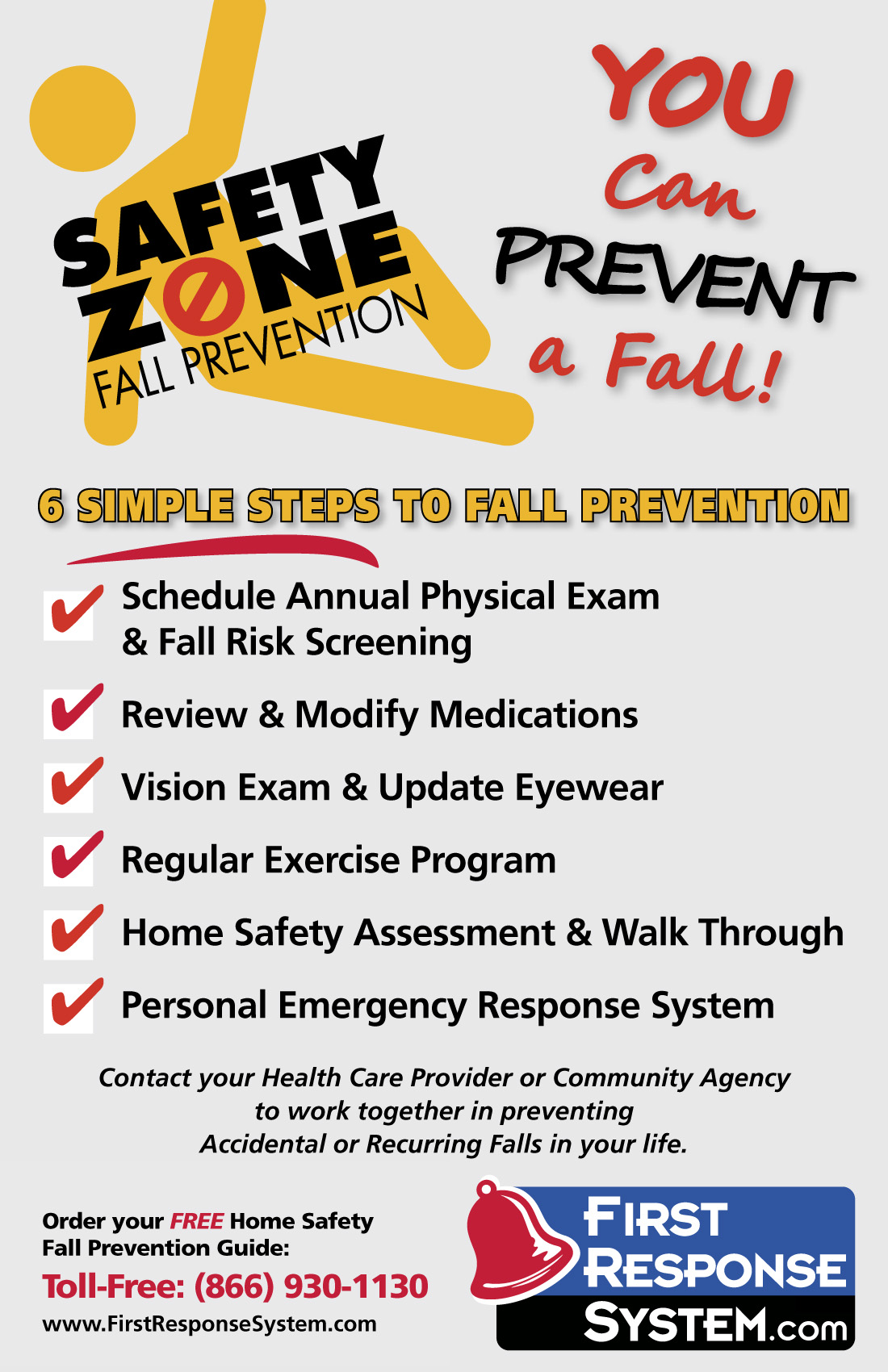 Fall Prevention Safety For Older Adults And Family Member