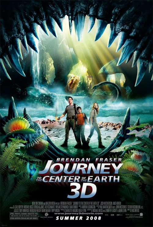 First Journey To The Center Of The Earth 3D Trailer