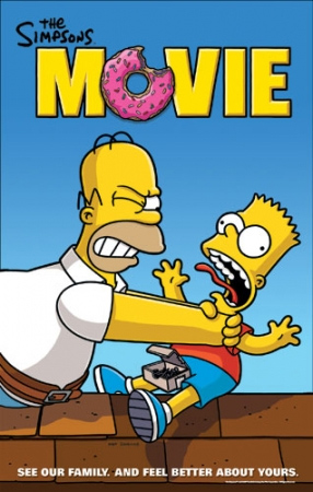 New Set Of The Simpsons Movie Posters