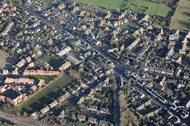 Arlesey aerial view