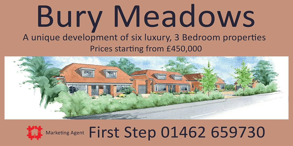 COMING SOON - 6 LUXURY 3 BEDROOM CHALET BUNGALOWS IN MEPPERSHALL.