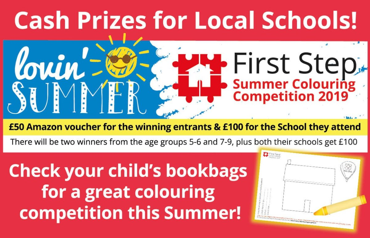 Summer colouring competition