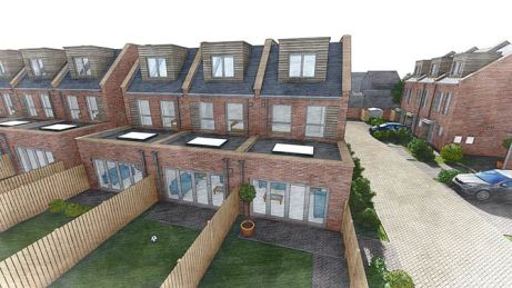 Plots 8-9 and 10 Rear