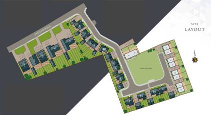Terence Place Fordham Site layout