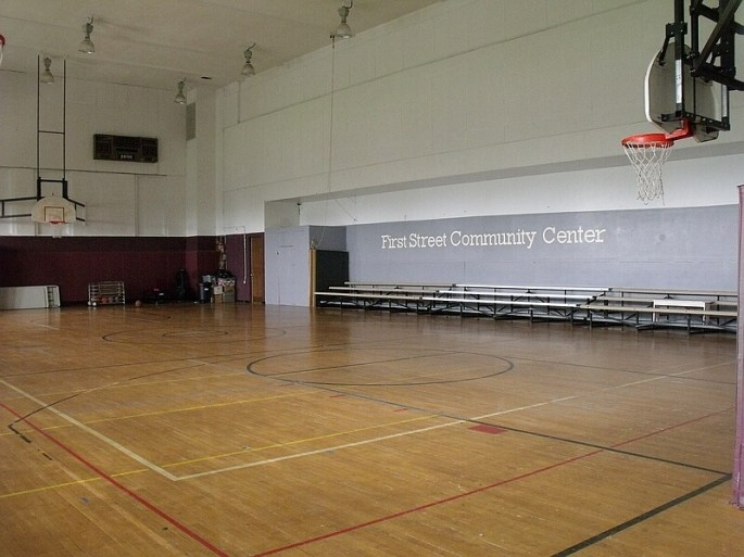 First Picture of the Gymnasium