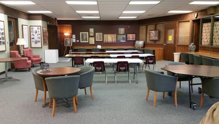 Picture of the Library meeting space in the First Street Community Center