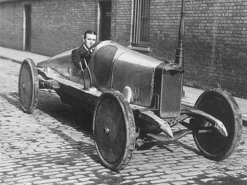 WO Bentley  1914  First Super Speedway