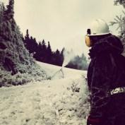Sugarbush snowmakers prepare for the season today in Vermont (photo: Sugarbush Resort)