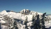 Jackson Hole Mountain Resort's Cody Bowl webcam looked winter-like on Friday morning. (photo: JHMR)