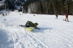 Mt. Norquay was the first western ski resort to open this week. (photo: Mt. Norquay)