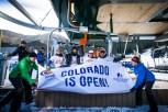 Opening day at Colorado's Arapahoe Basin Ski Area, Oct. 21, 2016. (photo: Dave Camara)