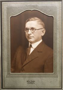 Rev. George B. Hamm, Pastor from 1917 to 1940
