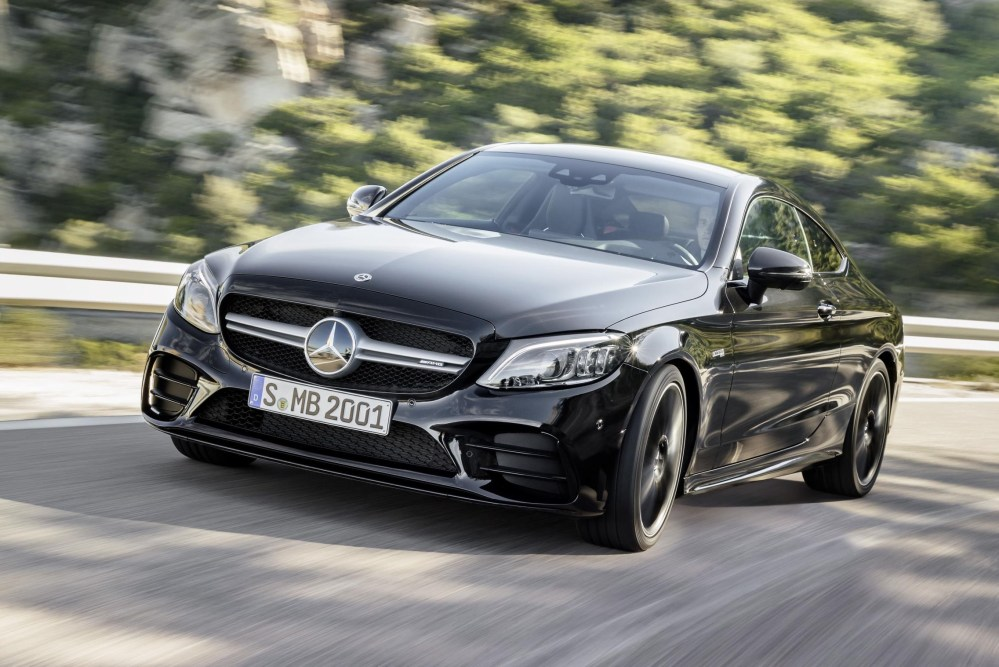 medium resolution of the revamped mercedes c class coupe and cabriolet have now gone on sale