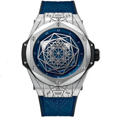 Replica Hublot Big Bang Sang Bleu Titanium 415.NX.7179.VR.MXM18 - Hublot Clone Watches