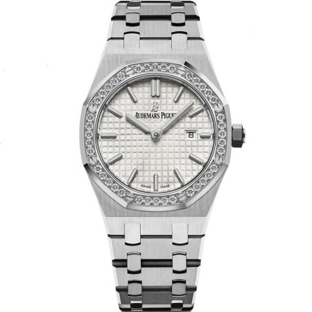 Replica Audemars Piguet Royal Oak Diamonds Ladies 67651ST.ZZ.1261ST.01 - Audemars Piguet Clone Watches