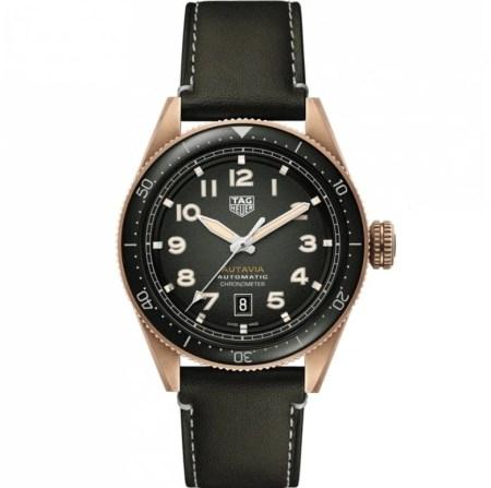 Replica TAG Heuer Autavia Calibre 5 Bronze WBE5190.FC8268 - TAG Heuer Clone Watches