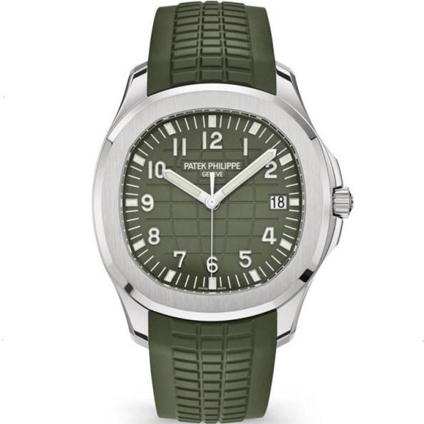 Replica Patek Philippe Aquanaut Green Dial 5168G-010 – Patek Philippe Clone Watches