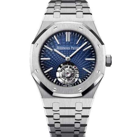Replica Audemars Piguet Royal Oak Flying Tourbillon 41mm 26530ST.OO.1220ST.01 - Audemars Piguet Clone Watches