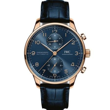 Replica IWC Portugieser Chronograph Boutique Edition IW371614 - IWC Clone Watches