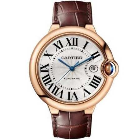 Replica Cartier Ballon Bleu de Cartier 42mm Pink Gold WGBB0030 - Cartier Clone Watches