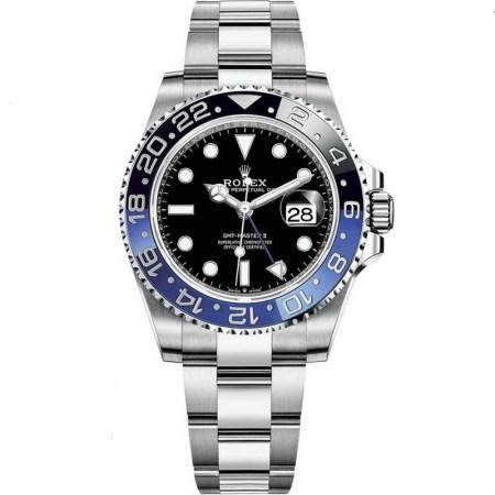 Replica Rolex GMT-Master II Batman 126710BLNR - Rolex Clone Watches