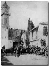 General Sir Edmund Allenby entering Jerusalem