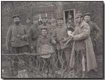 German comrades, winter 1914-15 (copyright Simon Rees, click to enlarge)