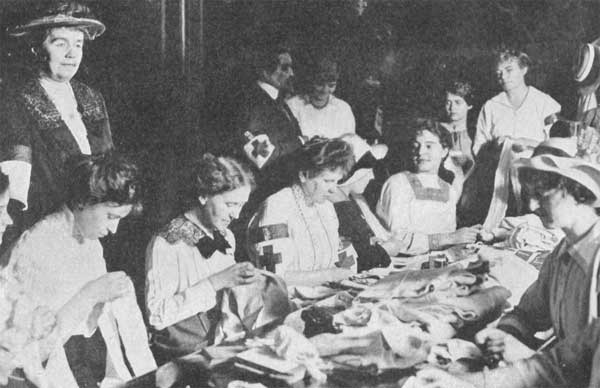 Women working in WW1