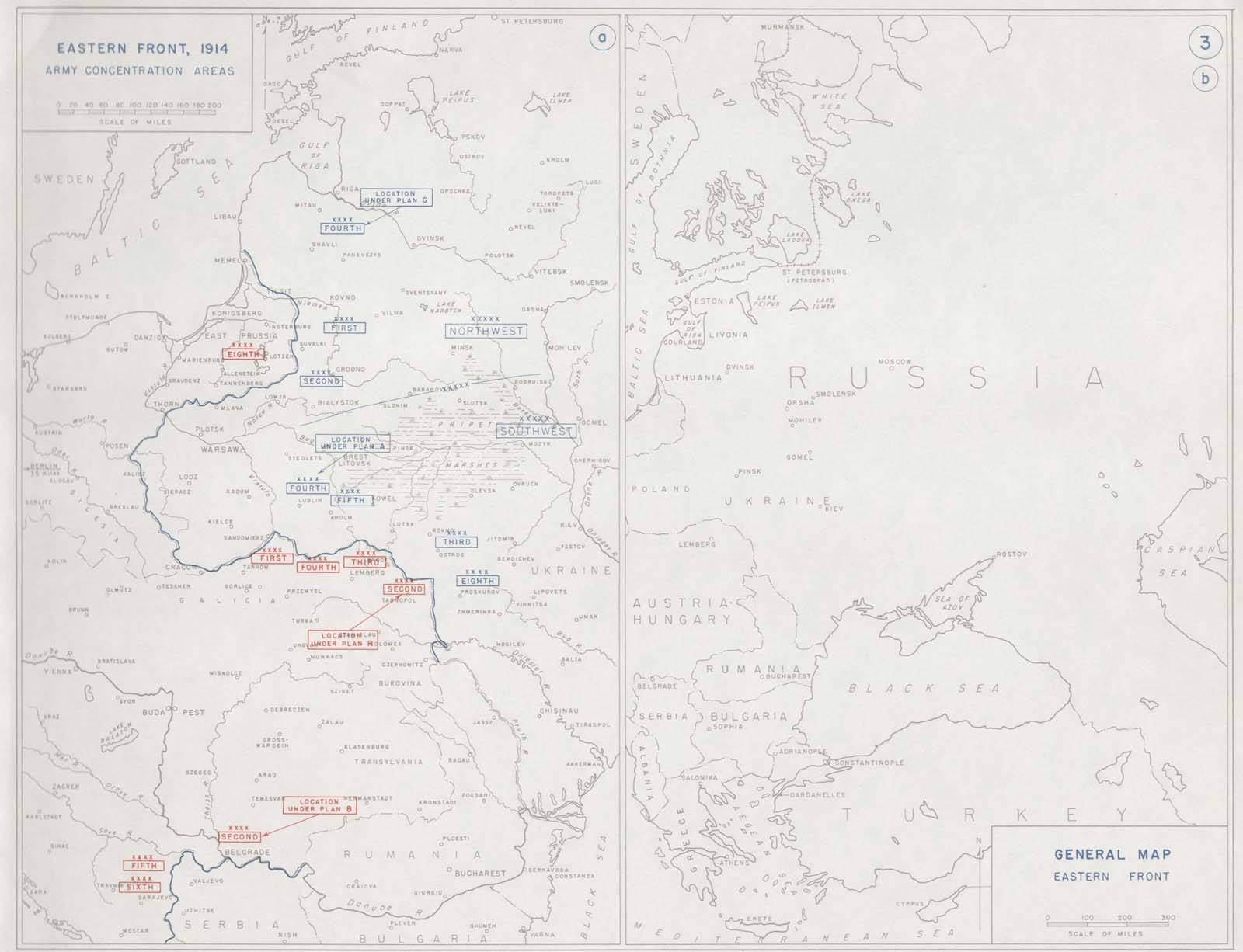 First world war - Eastern front