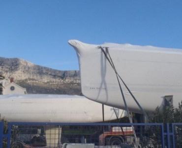 Prvé nové lode v Kaštele