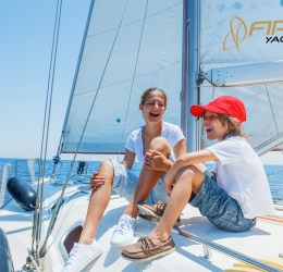 Have you ever thought of the holiday on a yacht with the kids?