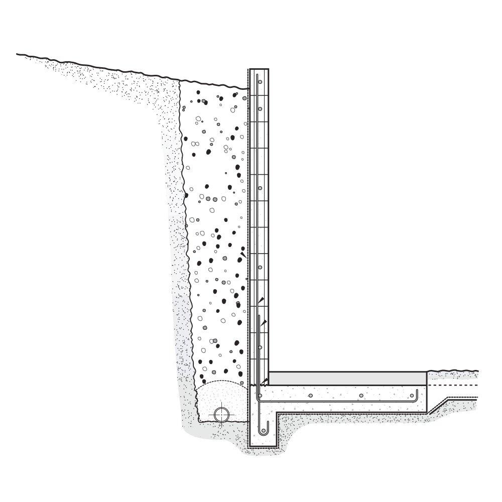 medium resolution of cantilever retaining walls
