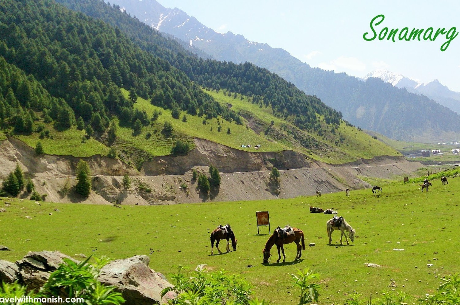 Sonamarg Kashmir Tour Package